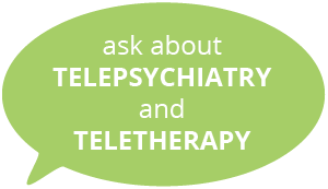 Telepsychiatry and Teletherapy